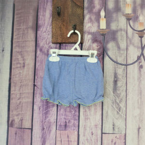 Other - Girls blue shorts 6-9 month O10